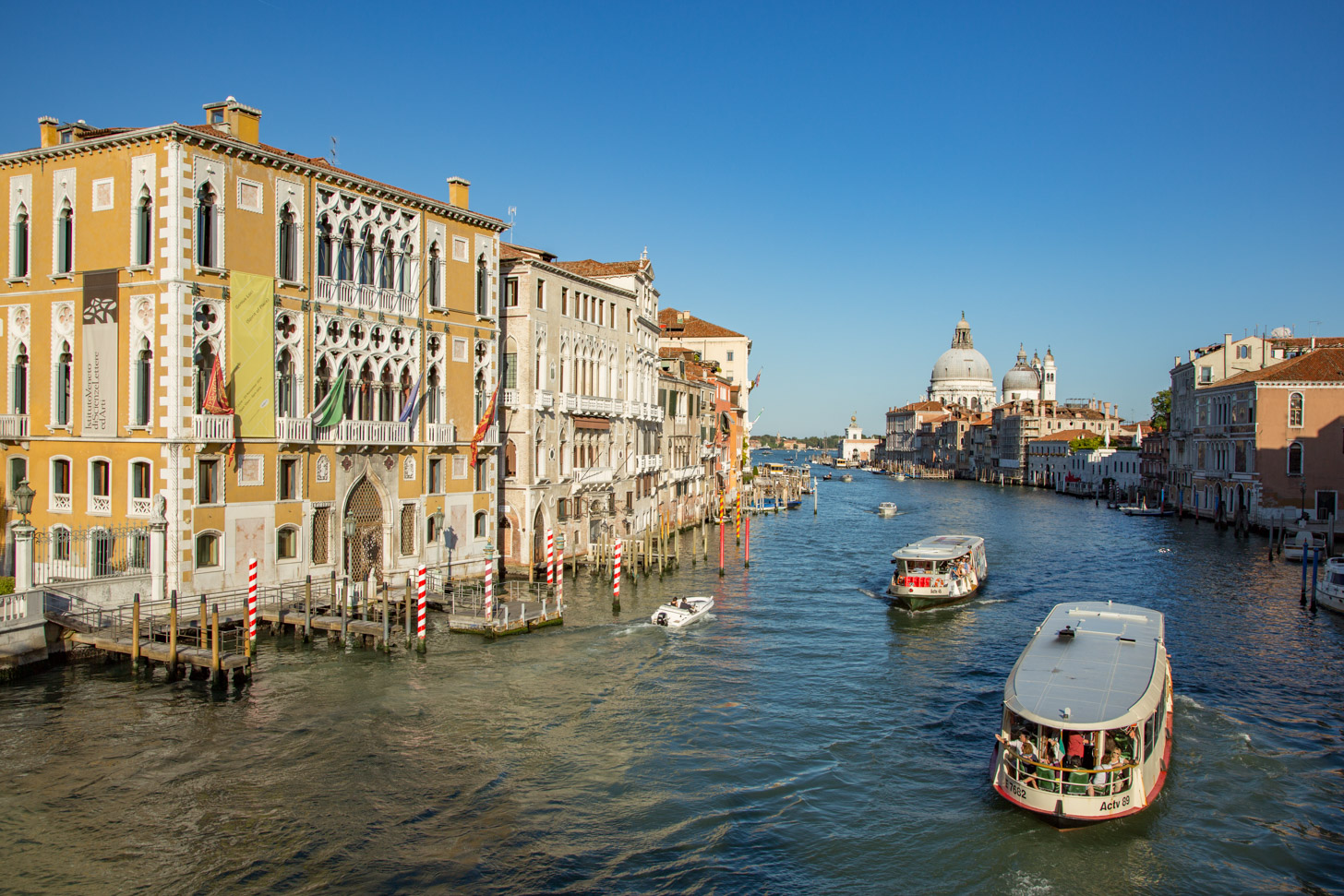 De kanalen van Venetië