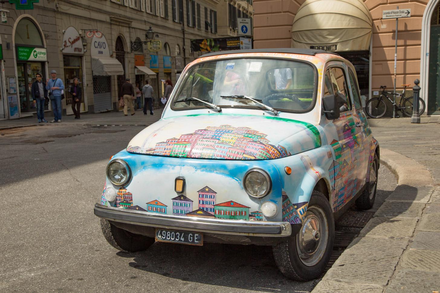 Met de auto naar Italië reizen