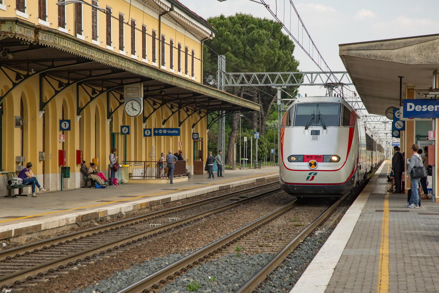 Met de trein naar Italië