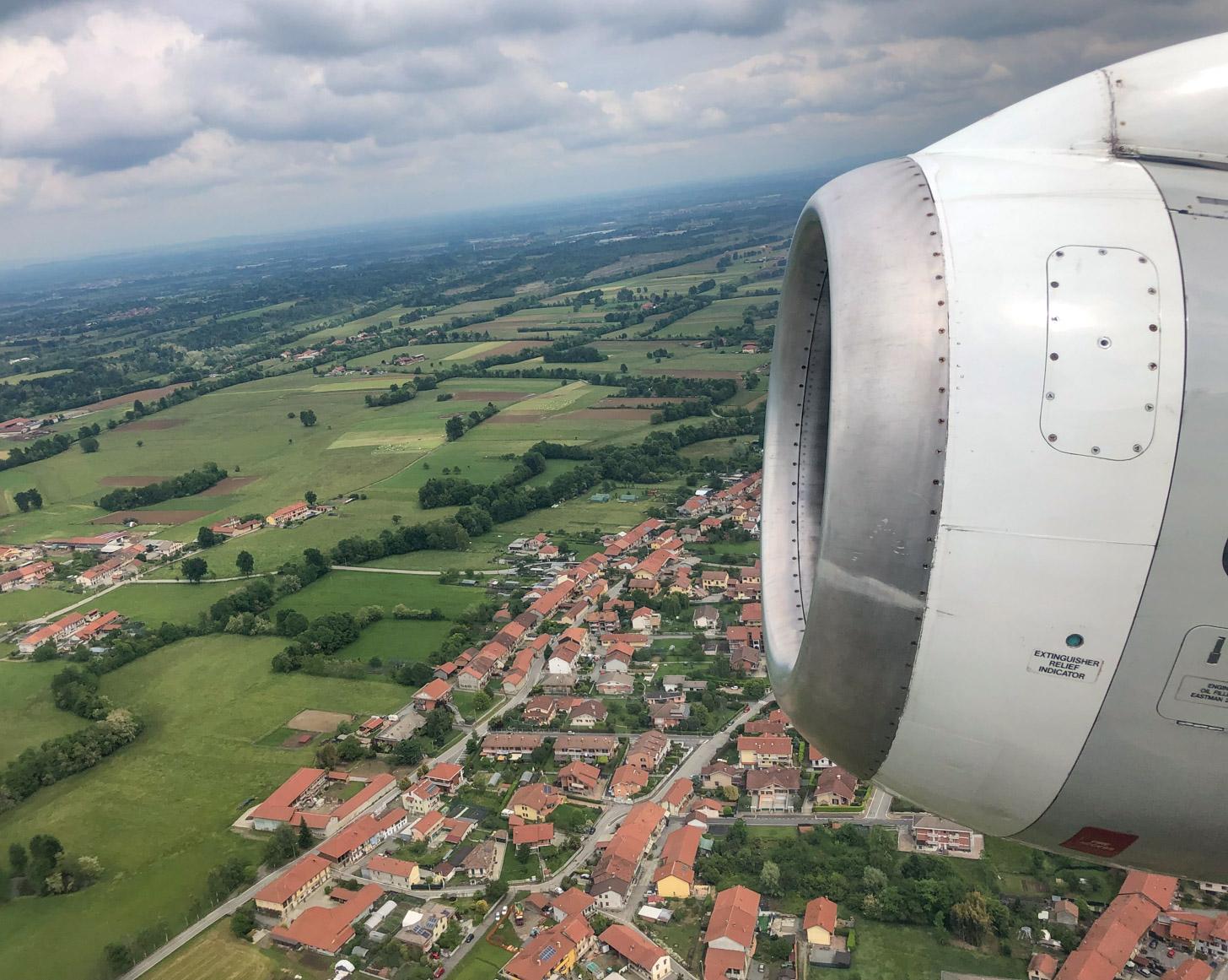 Vliegen naar Italië